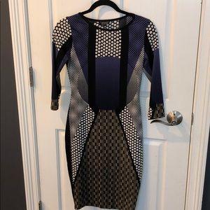 TOP SHOP BODY-CON DRESS size 6